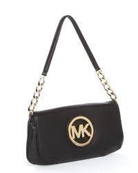 MICHAEL Michael Kors | Small Fulton Shoulder Bag, Black | Lyst