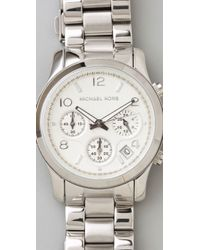 Michael Kors - Metallic Jet Set Sport Watch - Lyst