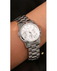 Michael Kors - Metallic Jet Set Sport Watch - Lyst