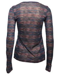 Proenza Schouler - Multicolor Striped Long Sleeve T-shirt - Lyst