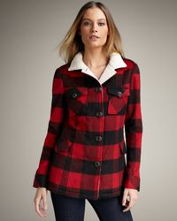 Torn | Red Taylor Lumberjack Jacket | Lyst