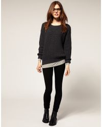 American Apparel | Black Leggings | Lyst