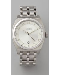 Nixon | Metallic Monopoly Watch | Lyst