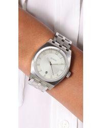 Nixon - Metallic Monopoly Watch - Lyst