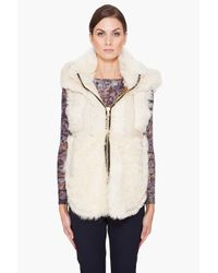 Rag & Bone | White Kola Vest in Natural | Lyst
