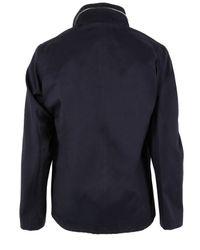 A.P.C. | Blue Vest Militaire Capuche Navy Jacket for Men | Lyst