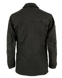 Barbour | Wanderer Black Jacket for Men | Lyst