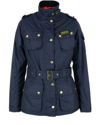 Barbour | Blue Rainbow International Navy Jacket for Men | Lyst