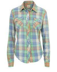 Denim & Supply Ralph Lauren | Blue Button Front Lilly Plaid Shirt | Lyst