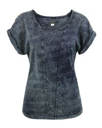 DIESEL | Blue T-suka Denim T-shirt | Lyst