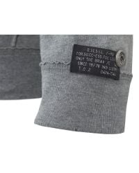 DIESEL | Gray Smuak Grey Sweat for Men | Lyst