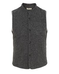 Folk | Gray Flecked Waistcoat for Men | Lyst