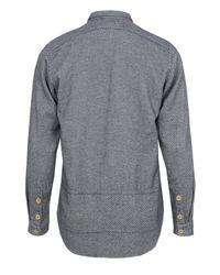 Folk | Blue Vangelis Panel Navy Shirt for Men | Lyst