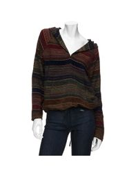 Love Sam | Multicolor Ethnic Fabric Hoodie | Lyst