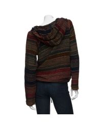 Love Sam - Multicolor Ethnic Fabric Hoodie - Lyst