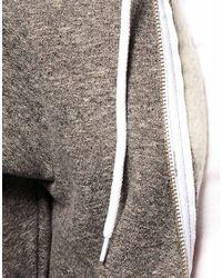 American Apparel - Gray Hoodie - Lyst