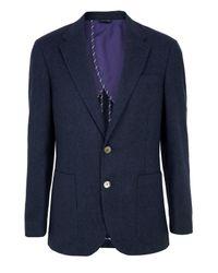 Paul Smith | Blue -r88n Byard Navy Jacket for Men | Lyst