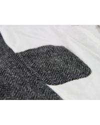 Universal Works | Gray Bakers Charcoal Herringbone Harris Tweed Jacket for Men | Lyst