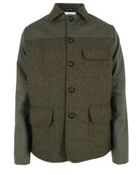 Universal Works | Green Olive Pendle Work Jacket for Men | Lyst