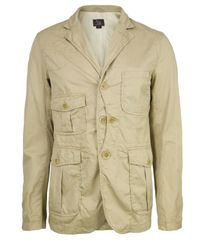 Woolrich | Natural Burberry Beige Upland Jacket for Men | Lyst
