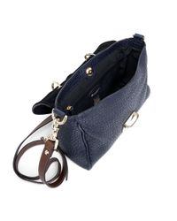 Mulberry - Blue Preorder Polly Push Lock Shiny Grain: Midnight - Lyst