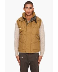 G-Star RAW | Brown Nordic Vest for Men | Lyst