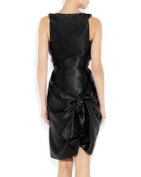 Vivienne Westwood Gold Label | Black Savannah Silk-satin Dress | Lyst