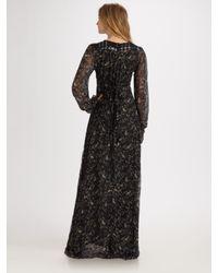 Winter Kate - Black Sweet Rose Maxi Dress - Lyst