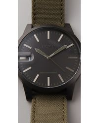 Nixon | Black Chronicle Watch | Lyst