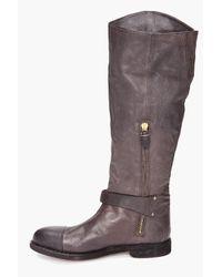 Rag & Bone - Gray Abbey Riding Boots - Lyst