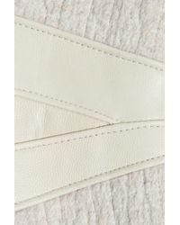 Rag & Bone - Multicolor Sackville Leather-trimmed Wool Biker Jacket - Lyst