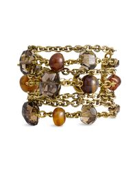 Stephen Dweck | Metallic Spice Carnelian Semiprecious Toggle Bracelet (nordstrom Exclusive) | Lyst
