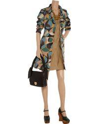 Thakoon Addition - Gray Strapless Draped Jersey Dress - Lyst
