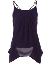 Theyskens' Theory | Purple Faunia Turga Tank | Lyst