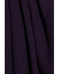 Theyskens' Theory - Purple Faunia Turga Tank - Lyst