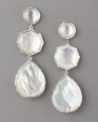 Ippolita - White Wonderland Mother-of-pearl Drop Earrings - Lyst