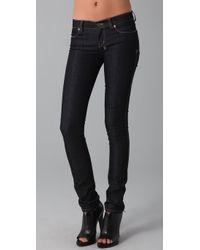 Ksubi | Blue Super Skinny Zip Jeans | Lyst