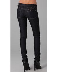 Ksubi - Blue Super Skinny Zip Jeans - Lyst