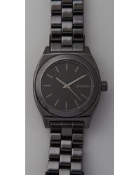 Nixon - Black The Ceramic Time Teller - Lyst