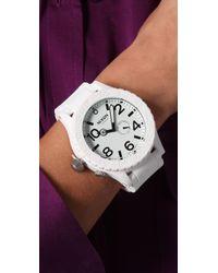 Nixon - White The Rubber 51-30 Watch - Lyst