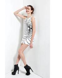 Rachel Zoe - White Peggy Sequin Flower Dress - Lyst