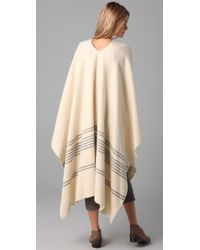 Boy by Band of Outsiders - Natural Woolrich Blanket Cape - Lyst