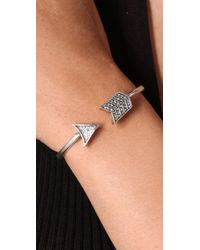 House of Harlow 1960 - Metallic Pave Arrow Cuff - Lyst