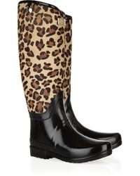 Hunter | Black Regent Montpelier Wellington Boots | Lyst