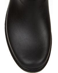 HUNTER   Black Shoreditch Wellington Boots   Lyst