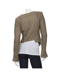 Improvd - Green Sweater Jacket - Lyst