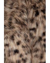 MICHAEL Michael Kors - Multicolor Animal-print Faux Fur Cropped Jacket - Lyst