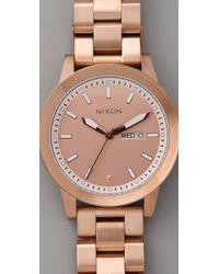 Nixon | Metallic The Spur Watch | Lyst