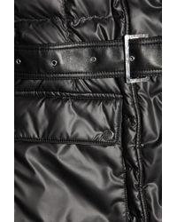 Belstaff - Black Brent Deluxe Quilted Down Coat - Lyst