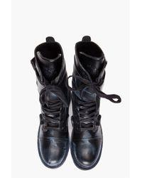 DIESEL   Black Me-tal Boots for Men   Lyst